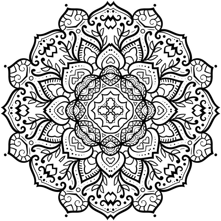 Beautiful patterns designs · coloring book
