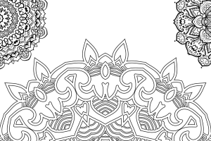 Adult Coloring Book: Awesome Stress Relieving Mandalas (Vol. 3)
